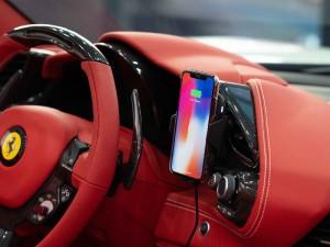 پایه نگهدارنده و شارژر وایرلس سی جی موبایل فراری مدل Scuderia Ferrari