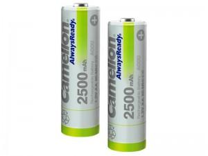 باتری قلمی قابل شارژ کملیون مدل Always Ready با ظرفیت 2500mAh (بسته 2 عددی)