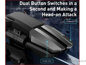 دسته بازی PUBG بیسوس مدل GAMO Mobile Game automatic combo Button GMGA09-01 (دسته سمت چپ)