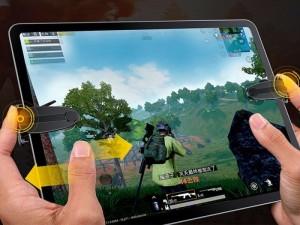 دسته بازی موبایل و تبلت بیسوس مدل Shooting Game Tool For Pad ACPBCJ-01
