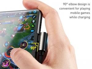 کابل تایپ سی مخصوص بازی بیسوس مدل Legend Series Elbow Fast Charging Data Cable 66W CATCS-B01