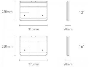 کیف لپ تاپ بیسوس مدل Basics Series Laptop Sleeve LBJN-B0G مناسب برای لپ تاپ 16 اینچی