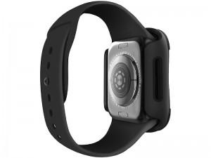 قاب محافظ و گلس یونیک مدل TORRES مناسب برای ساعت هوشمند اپل واچ 40mm