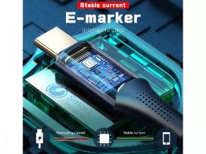 کابل سوپر شارژ دو سر تایپ سی مخصوص بازی مک دودو مدل CA-8320 به طول 1.2 متر