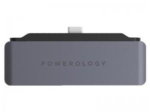 هاب تایپ سی 4 پورت پاورولوژی مدل P41PACHGY