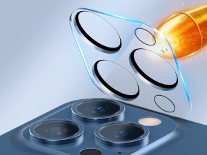 محافظ لنز دوربین بیسوس مدل Full-frame Lens Film SGAPIPH67P-AJT02 مناسب برای گوشی iPhone 12 Pro Max (پک 2 عددی)