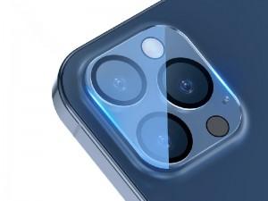 محافظ لنز دوربین بیسوس مدل Full-frame Lens Film SGAPIPH61P-AJT02 مناسب برای گوشی iPhone 12 Pro (پک 2 عددی)