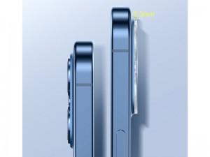 محافظ لنز دوربین بیسوس مدل Full-frame Lens Film SGAPIPH54N-AJT02 مناسب برای گوشی iPhone 12 mini (پک 2 عددی)