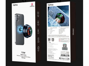 شارژر وایرلس مگنتی فن دار توتو مدل Speed series-15W magnetic wireless charging radiator CACW-045