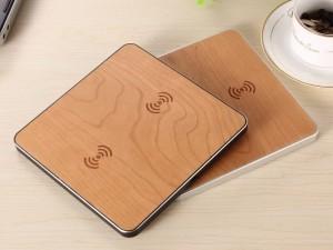 شارژر وایرلس دوکاره مدل Wireless Charging Pad
