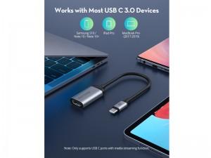 مبدل USB-C 3.0 به HDMI راو پاور مدل USB-C 3.0 to HDMI 4K Adapter