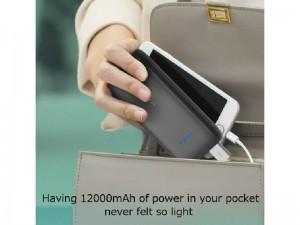 پاور بانک فست شارژ 12000 میلی آمپر راو پاور مدل ACE Series RP-PB065