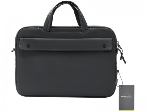 """کیف لپ تاپ بیسوس مدل  Basics Series 13"""" Shoulder Computer Bag Buff LBJN-G0G مناسب برای لپ تاپ 13 اینچی"""