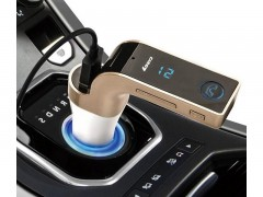 شارژر فندکی ، بلوتوث و اف ام پلیر خودرو مدل CAR G7