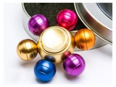 اسپینر فلزی طرح توپ های رنگین کمانی