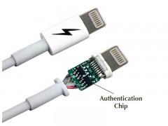 کابل تبدیل USB به Lightning فاکسکان با چیپ e75