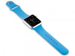 بند سیلیکونی اپل واچ 42 میلی متری رنگ  آبی