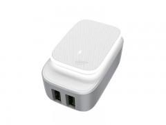 شارژر دیواری 2 پورت الدینو مدل A2205  بهمراه کابل Micro USB
