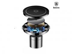 پایه نگهدارنده و شارژر بی سیم گوشی موبایل بیسوس سری BIG EARS  مدل WXER-01