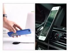 کیت شارژ وایرلس بهمراه پایه نگهدارنده و قاب محافظ جویروم مدل JR-ZS141 مناسب برای گوشی آیفون 7