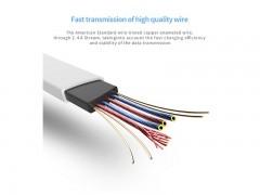 کابل شارژ و انتقال داده USB to Micro USB راک طرح خوک مدل RCB0523