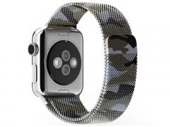 بند فلزي میلانس ارتشی اپل واچ 42 ميلي متري  مدل Fashion Watchband