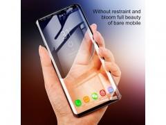 محافظ صفحه نمایش 3D فول چسب بیسوس مدل Tempered Glass Film سری SGSAS9P_TM01 مناسب برای گوشی موبایل سامسونگ S9 PLUS