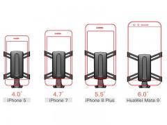پایه نگهدارنده گوشی موبایل بیسوس مدل Osculum Type Gravity