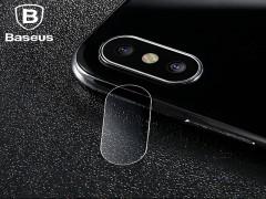 محافظ لنز دوربین شیشه ای بیسوس  مناسب برای گوشی موبایل آیفون X
