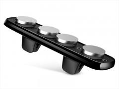 پایه نگهدارنده گوشی موبایل باسئوس مدل Double Clip Vehicle Mount Horizontal Type