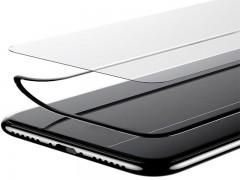 محافظ صفحه نمایش شیشه ای بیسوس مدل Silk Screen Tempered Glass Film مناسب برای گوشی موبایل آیفون X