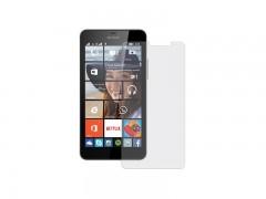 محافظ صفحه نمایش شیشه ای  مدل تمپرد مناسب برای گوشی موبایل نوکیا 435