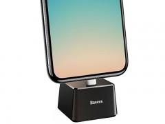 581889.jpgپایه شارژ رومیزی لایتنینگ بیسوس مدل Quadrate Desktop Bracket با کابل بطول 1 متر