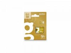 کارت حافظه 64 گیگابایت microSDHC  دی ام کلاس 10 استاندارد UHS-I U1 سرعت 85MBps به همراه آداپتور