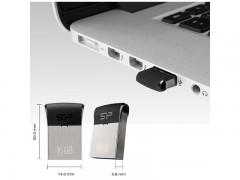 فلش مموری سیلیکون پاور مدل Touch T35 ظرفیت 8 گیگابایت