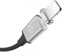 کابل شارژ و انتقال داده Lightning آهن ربایی بیسوس مدل New Insnap Series  بطول 1.2 متر
