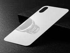 محافظ صفحه نمایش شیشه ای پشت و رو بیسوس آیفون X  مدل Glass Film Set