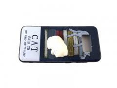کاور طرح گربه2 نرمالو مناسب برای گوشی سامسونگ S8