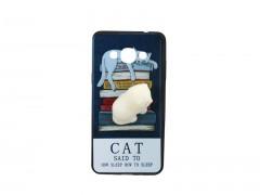 کاور طرح گربه2 نرمالو مناسب برای گوشی سامسونگ j3 pro