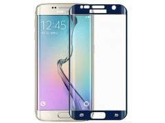 محافظ صفحه نمایش شیشه ای تمپرد مدل Full Cover مناسب برای گوشی موبایل سامسونگ Galaxy S7 Edge