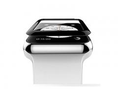 محافظ صفحه نمایش شیشه ای مدل Tempered Glass 3D مناسب اپل واچ سایز 38  میلی متر