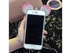 کاور ژله ای نگین دار طرح میکی ماوس مناسب برای گوشی موبایل اپل آیفون 7/8 Plus