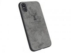 کاور طرح گوزن برلیا مدل Deer مناسب برای گوشی موبایل اپل آیفون  X/XS