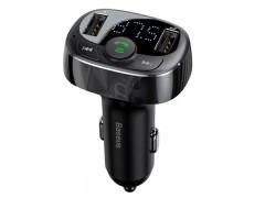 شارژر فندکی و پخش کننده بلوتوث بیسوس مدل T Type Bluetooth MP3 Charger