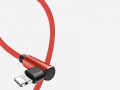 کابل تبدیل USB به لایتنینگ راک مدل L-Shape