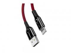 کابل تبدیل USB به Lightning بیسوس مدل C-Shaped