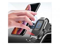 پایه نگه دارنده و شارژر وایرلس گوشی موبایل بیسوس