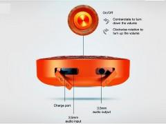 اسپیکر بلوتوث بیسوس مدل Encok Outdoor Lanyard Wireless speaker E03