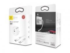 شارژر دیواری بیسوس مدل Funzi Type-C PD   USB Charger