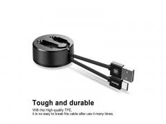 کابل تبدیل USB به لایتنینگ بیسوس مدل New Era بطول 0.9 متر